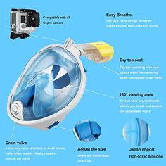 Full face snorkeling masks compared and reviewed. Tips on buying the right snorkel mask for you.