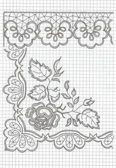 images attach c 10 110 547 Cutwork Embroidery, Hand Embroidery Patterns, Lace Patterns, Craft Patterns, Embroidery Stitches, Machine Embroidery, Parchment Cards, Lace Painting, Point Lace