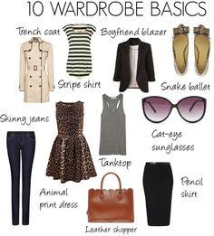 10 wardrobe basics