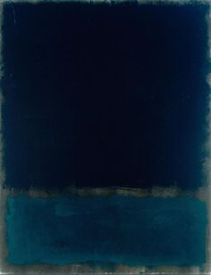 """mark rothko, dark period.  Rothko's art always seems so simple and yet is always mesmerizes me against my pretension.  I want to say """"This isn't art!""""  But then the art says to me """"Then why can't you look away?"""""""