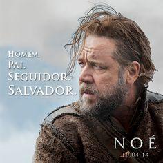 """""""Noé"""" é o último grande desafio na carreira do ator galardoado com um Óscar® Russell Crowe."""