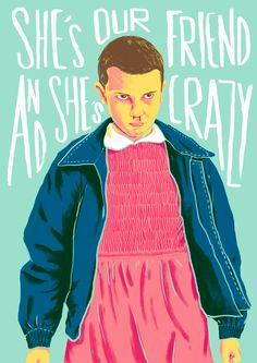 Stranger Things Fan Art - Eleven on Behance