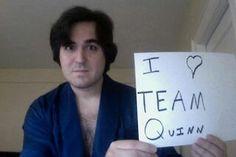 "And we love you. Impractical Jokers. The Tenderloins. Brian ""Q"" Quinn."