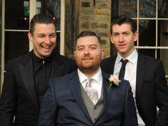 Alex and Matt at Andy Nicholson's wedding. Still good mates, I see.