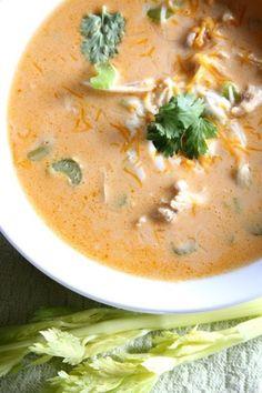 Buffalo Chicken Soup…Low Carb - She's Doughmesstic
