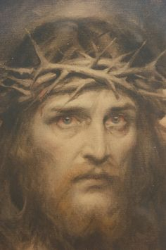 INCREDIBLE Ecce Homo Jesus Portrait Framed by LarimoreLife on Etsy, $265.00