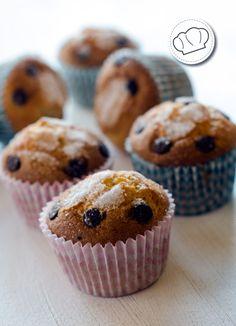 receta de Magdalenas con trocitos de chocolate
