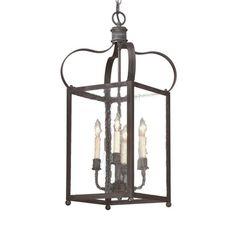 Bradford 4 Light Seeded Lantern - Small by Troy Lighting