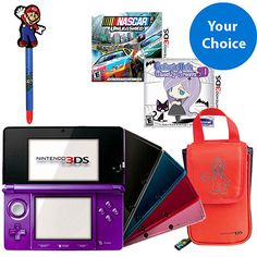 Nintendo 3DS Starter Bundle - a $40 Value! - Walmart.com  $180 11/4