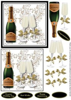 Champagne Toast on Craftsuprint - View Now!