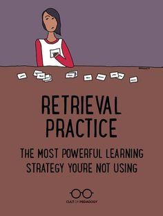 Instructional Coaching, Instructional Strategies, Teaching Strategies, Teaching Tips, Instructional Technology, Teaching Study Skills, Retrieval Practice, Brain Based Learning, Teaching
