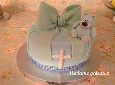 Gâteau baptême tout doux