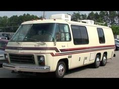 1978 GMC Royale 26' motorhome, bought in Michigan, sold in Holland to Belgium people. This was really a classic piece. In mint condition with a GM 403 ci. V8, it's a front-wheel drive unit. Look at http://uscamper.eu.