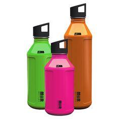MiiR stainless steel water bottles, $12 & up