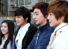 Kim So Eun, Kim Beom, Kim Jun & Kim Hyun Joong 'Boys Over Flowers'