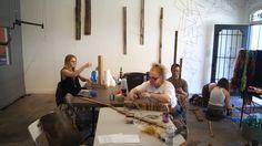 Susan Feldman's Wood & String class!