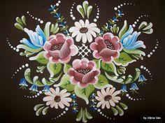 Boat Painting, One Stroke Painting, Rosemaling Pattern, Norwegian Rosemaling, German Folk, Scandinavian Folk Art, Pintura Country, Painting Patterns, Art World