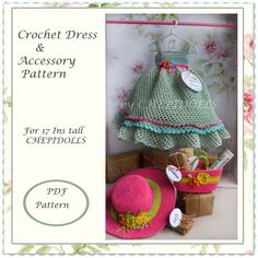 ADDITION+PATTERN..+Crochet+doll+outfit+