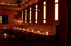 Employees Only, West Village, NYC - Raise your glass as you romance the roaring 20s. #speakeasy  http://www.employeesonlynyc.com