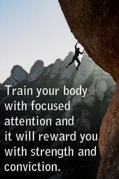 Yes!!!  It's a new year, let's focus on getting it right and tight!!  :)  Body weight training enables us to test our limits.