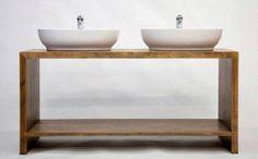Cum gasesc un tamplar in Bucuresti - Dragos si Costi Solid Oak Furniture, Vanity, Bathroom, Construction, Dressing Tables, Washroom, Building, Powder Room, Vanity Set