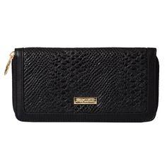 Wallet (black snake):$29.95 Get yours @ www.jenniferwallace.miche.com