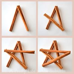 Cinnamon Star Ornaments - A Pretty Life In The Suburbs