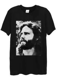 Jim Morrison T-Shirts available in different colours, styles and sizes