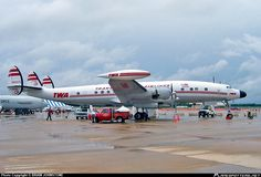 Trans World Airlines (TWA) Lockheed L-1049 Super Constellation. Photo by Brian Johnstone