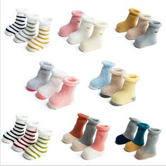 3 Pairs of Nice Baby Socks //Price: $13.90 & FREE Shipping //     #ootd #cutesocks #childrensocksonline