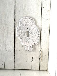 Owl Decor Light Switch Cover Owl Plate Cover by honeywoodhome