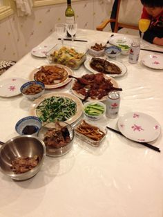 Chinese New Year dinner, nothing else like it