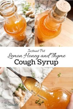 Want to learn to make your own cough syrup Never fear its easy using your instant pot via AFHomemaker Cold Remedies, Natural Health Remedies, Herbal Remedies, Bloating Remedies, Natural Medicine, Herbal Medicine, Ayurveda, Instant Pot, Kraut
