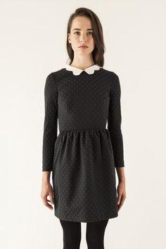 pretty collared dress