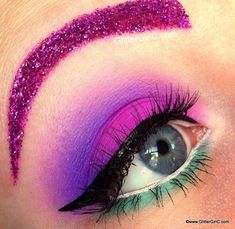 Fun Crazy Eye Makeup
