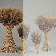 Grande Blackbeard Wheat Shocks, or Wheat Stacks, available individually at Branches Wholesale.