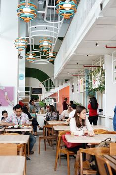IOOR Studio - Food Hub #InteriorDesign Photo by: The Lucky Belly