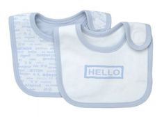 Under the Nile Bibs - Hello Goodbye Ice Blue Under The Nile, Organic Baby Clothes, Bibs, Baby Gear, Toddler Outfits, Baby Toys, Baby Blue, Organic Cotton, Infant