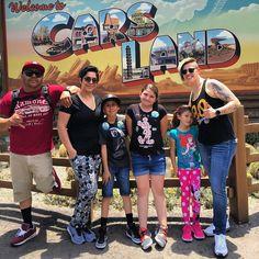 Cars land with the fam... #disneycaliforniaadventure #Disney #disneyland #Nike #flyknitracer #flyknitdaily #Jordan #MickeyMouse #SanJoseGiants #GSWarriors #Warriors by chata_2