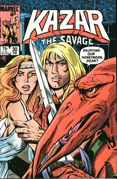 Ka-Zar, The Savage # 30 by Mary Wilshire & Carlos Garzon