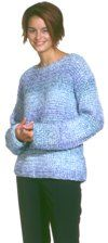 Beginner sweater - article mentions knitting, but pattern is crochet