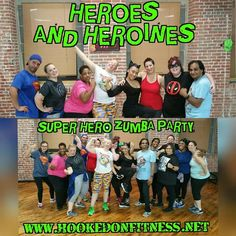 These Heroes and Heroines helped #HookedOnFitness save the world from the party poopers who don't dance! #ZumbaParty #Zumba #PhillyPersonalTrainer #GroupFitness #FitFam #BestInPhilly #BestInPhillyKeepsGettingBetter #PhillyFit #PhillyFitness #FitPhilly http://ift.tt/1Ld5awW Another shot from #HookedOnFitness