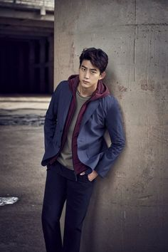2PM's Taecyeon for Salewa Fall/Winter 2016 Collection ❤️