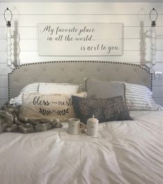 Bedroom signs - Bedroom wall decor bedroom sign my favorite place in all the world is next to you wood signs sign above headboard 48 x 18 5 Romantic Bedroom Decor, Farmhouse Bedroom Decor, Modern Farmhouse Decor, Home Decor Bedroom, Modern Bedroom, Contemporary Bedroom, Bedroom Decor Master For Couples, Bedroom Wall Decor Above Bed, Above Headboard Decor