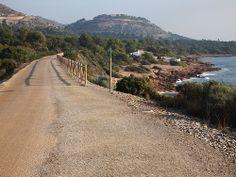 Imagen de la Vía Verde y la playa de la Renega en Benicassim