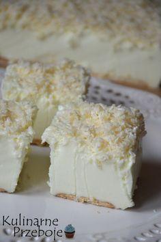 Ciasto Śnieżny puch – bez pieczenia - w kilka minut! Cold Desserts, Cookie Desserts, Delicious Desserts, Yummy Food, Sweet Recipes, Cake Recipes, Snack Recipes, Dessert Recipes, Sweets Cake