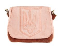 Women bag from a genuine leather UKRAINE. Fashion bag. by Rossatti