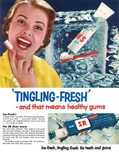 1955 SR Toothpaste ad | Flickr - Photo Sharing!