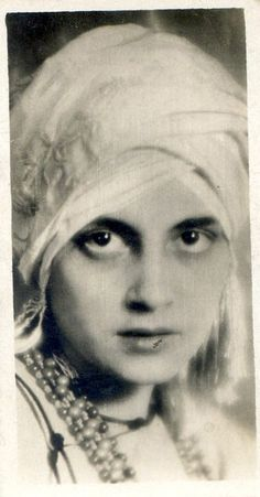 Vintage Portraits Showing 21 National Types of Beauty from the Early 1930s: National types of beauty was a series of real photo cigarette cards distributed in the 1930s. Some of the women portrayed were well-known actresses in their country - Persia