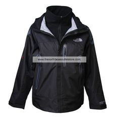 The North Face Black Wool Men Denali 014